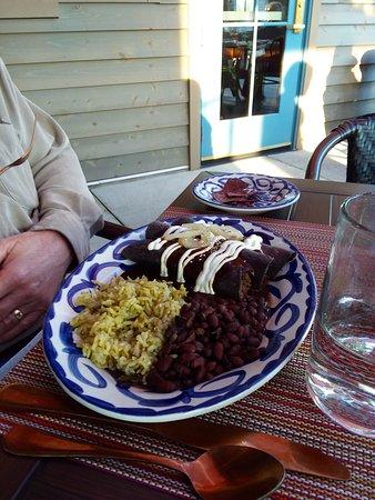 Vestavia Hills, AL: Shortrib Enchiladas with Mole