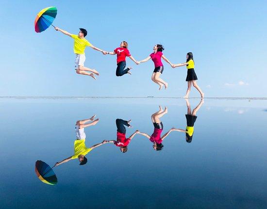 Sky Mirror- gương mặt trời thu hút giới trẻ