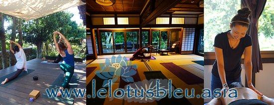 Ishigaki-jima, ญี่ปุ่น: yoga and massages