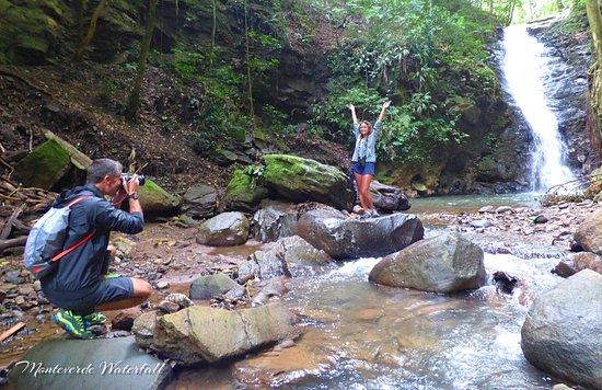 Catarata Los Murcielagos - Monteverde Waterfall