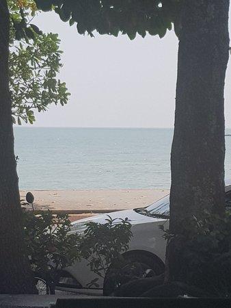 Nice restaurant facing beach