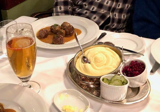 Tennstopet - classic Swedish meat balls.