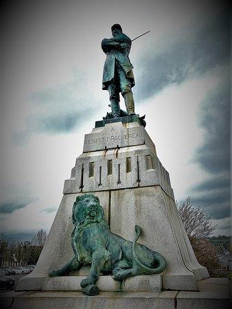 Statue et Monument Colonel Denfert Rochereau