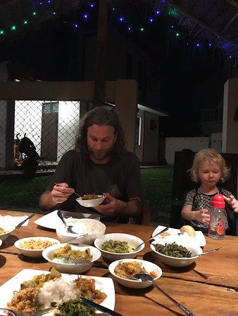 Good food, good view, loveliest host!!