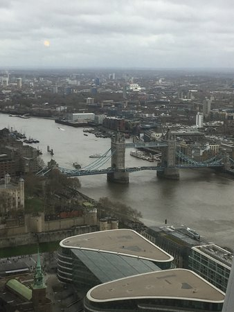 Sky Garden: View of London Bridge