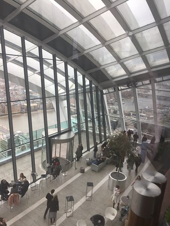 Sky Garden: View from Darwin Brasserie