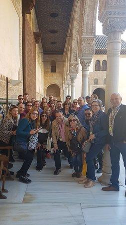 #Alhambra Emoción Grupo Marzo 2019 Con guia Gema