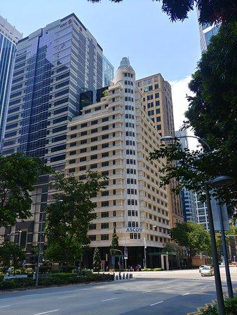 Vista esterna dell'albergo