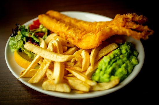 St Andrews Restaurant: Award-winning Fish and Chips. Gluten-free always available. Just ask!
