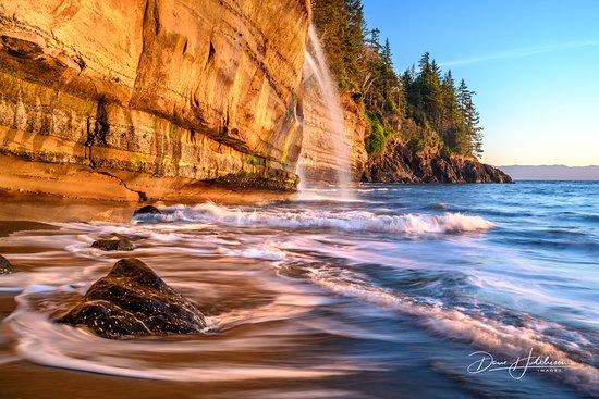 Sidney, Canadá: Mystic Beach, Juan de Fuca Trail, Victoria, BC Canada