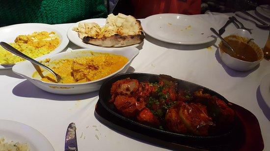 Llanymynech, UK: meals