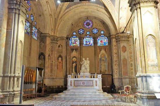 Church and Museum of Orsanmichele: Interior