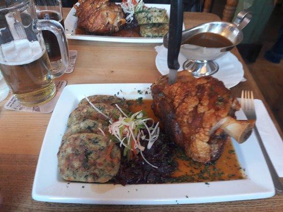 Stadthotel & Restaurant Kachelofen: Gibt's auf Vorbestellung. Super lecker 👍👍👍