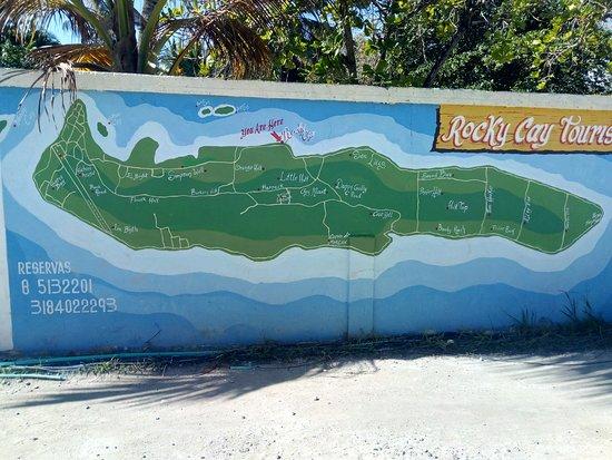 Rocky Cay : lugar