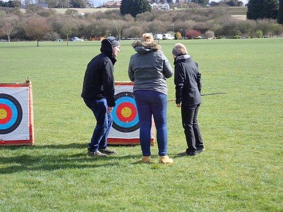 #ArcheryExperience at #YarwellMillCountryPark