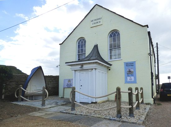 West Bay, UK: This is the Discovery Centre, located in a former Methodist Church that dates from 1849.