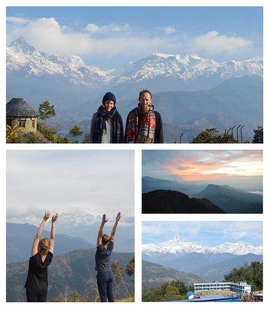 Yoga, trekking, mountains