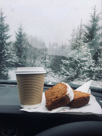 Balquhidder, UK: Recommend the latte and iced gingerbread - best I've tasted
