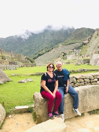 Visita a Machu Picchu - Elisabeth Souza e Paulo Roberto