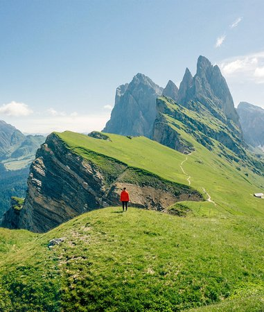 South Tyrol Dolomites, Italy: Unforgettable peak in the Dolomites.