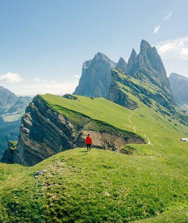 South Tyrol Dolomites, Italia: Unforgettable peak in the Dolomites.