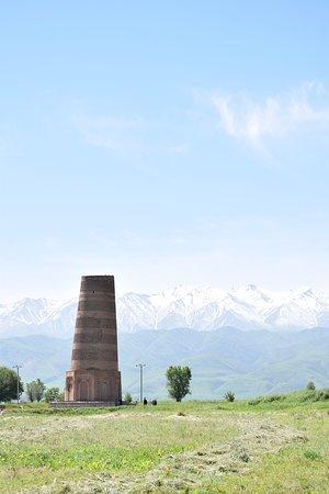Tokmok, Kyrgyzstan: Burana Tower.