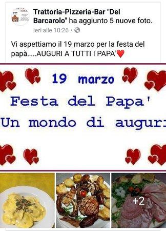 Gallese, Italien: Trattoria del Barcarolo Pizzeria Bar