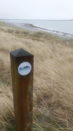 Benbecula Island, UK: Nearby walk on the Hebridean Way