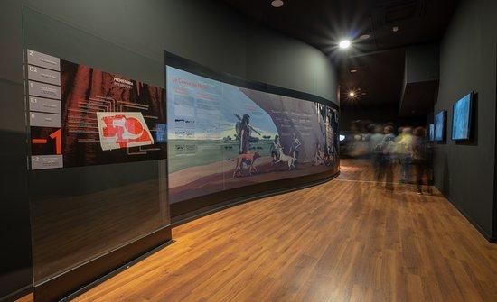 Museo de Nerja: Sala -1. La Prehistoria y la Cueva de Nerja.