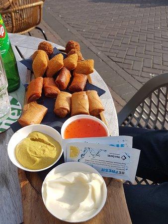 Lemmer, The Netherlands: Gemengde snack