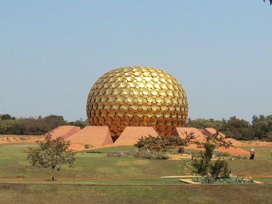 Auroville, الهند: Matrimandir