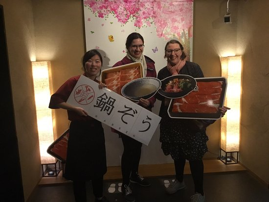 Nabezo Shinjuku 3 Chome: Thank you for coming today!  Please visit us again:)