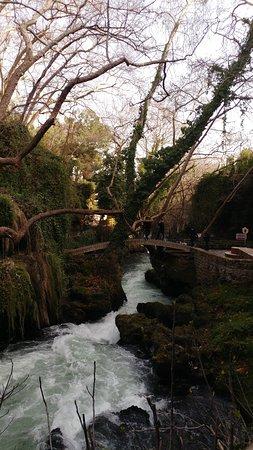 Upper Duden Waterfalls: Düden şelalesi