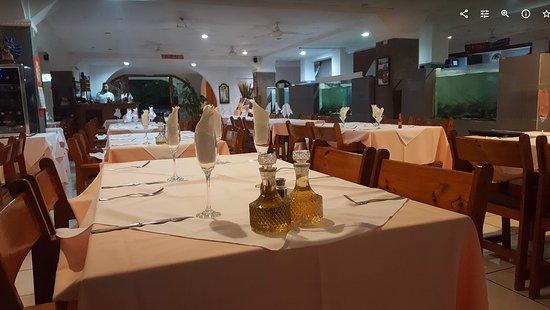 Puerto Caldera, Costa Rica: Restaurante
