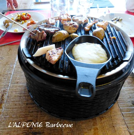 barbecue raclette, viandes, pdt