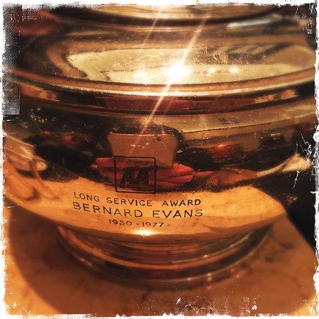 The silver teapot