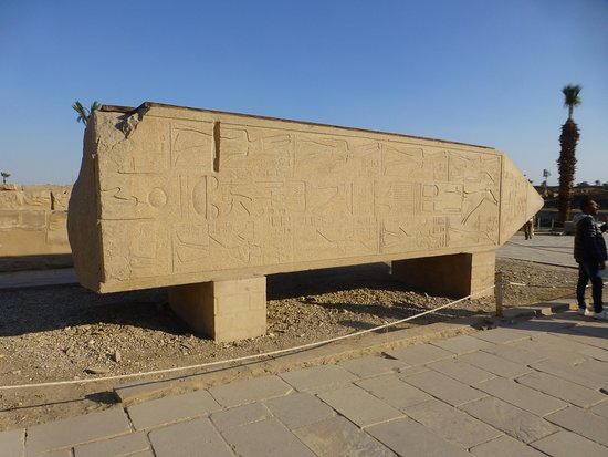 Karnak-Tempel: fallen block