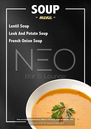 NEO FOOD MENU 2019