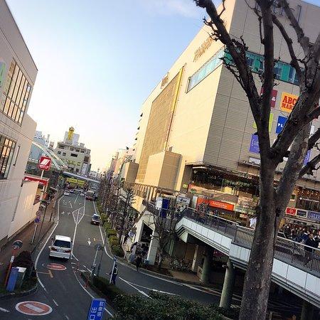川越駅の東口からすぐのアトレが大きかった!