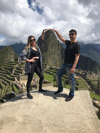 Visita a Machu Picchu - Adriana Miguel e Roberto Sanches