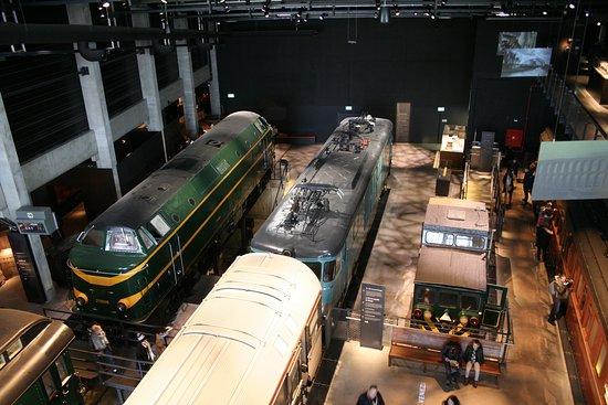 Schaerbeek, Belgique : In Train World.
