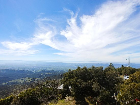Clayton, CA: Views from Mt. Diablo outside of Walnut Creek, CA.