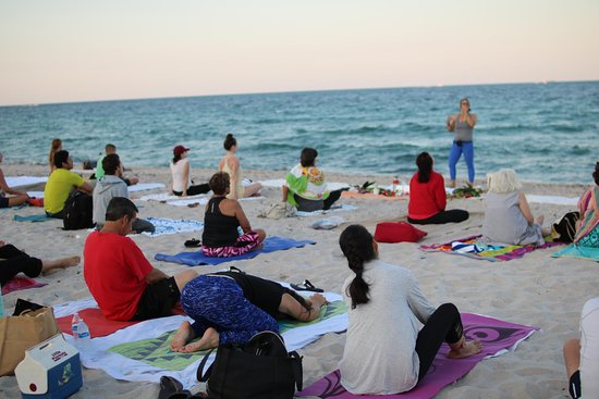 Fort Lauderdale Beach Yoga & Fitness by Donation