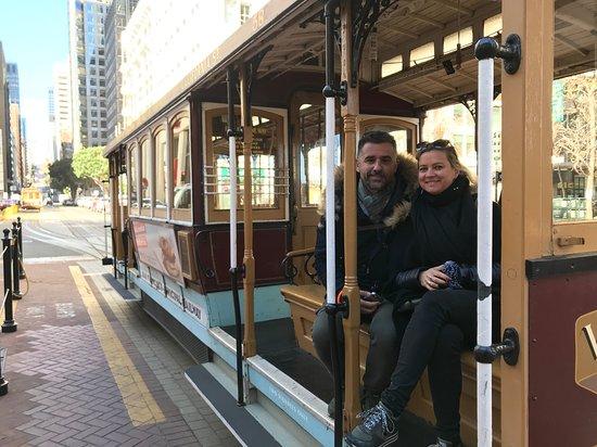 """""""Nob Hill & Cable Car"""" avec San Francisco by Gilles. San Francisco en français à pied avec un guide français"""