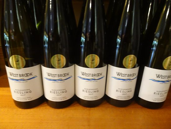 Waimauku, New Zealand: Yummy stuff; Their Riesling is a home-run