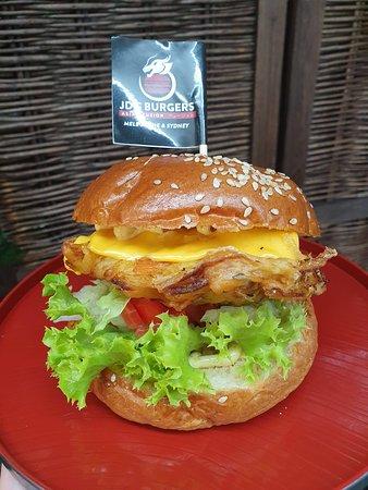 "Highly Rated Vegetarian Burger ""Vegeta"""