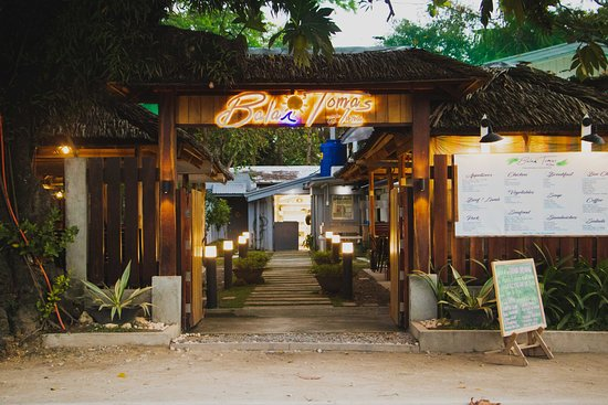 Surigao del Norte Province, Philippines: Entrance at night