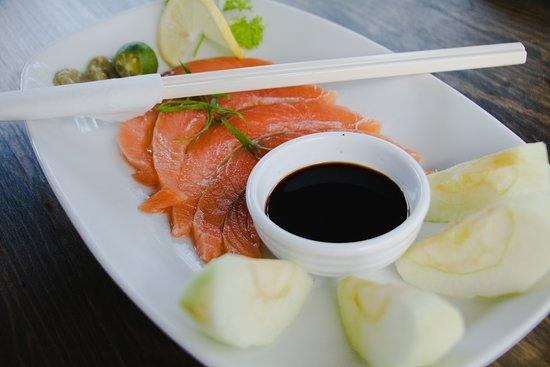 Surigao del Norte Province, Philippines: Salmon Sashimi