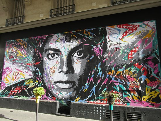 Fresque Michael Jackson