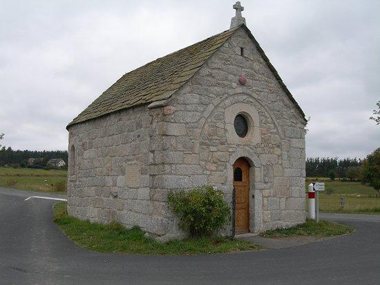 La Chaze-de-Peyre, France : La Chapelle Bastide, sur le Chemin de St Jacques de Compostelle